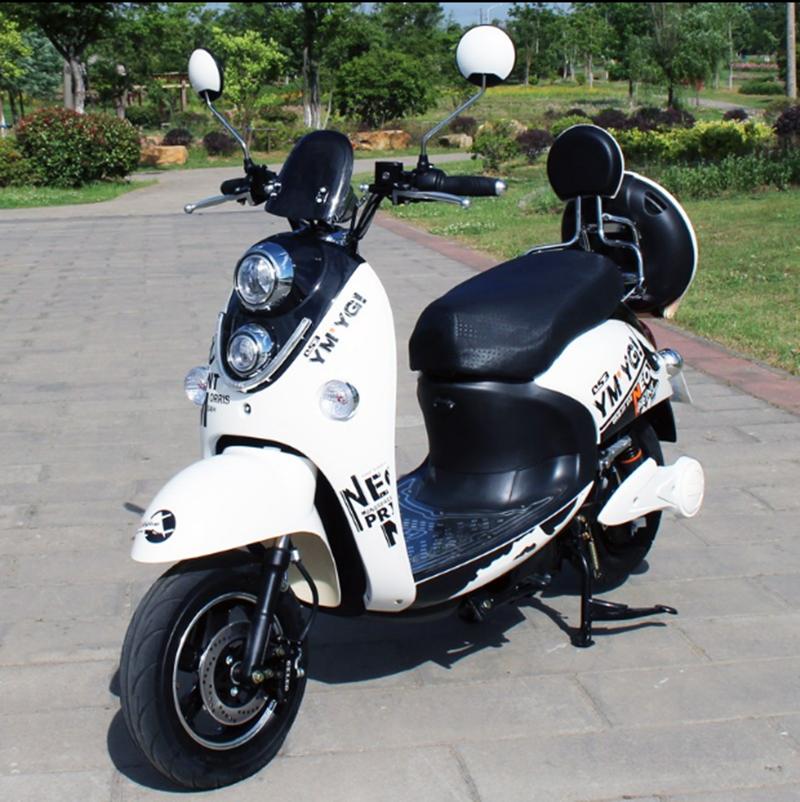 。电动车60V电瓶车72V踏板摩托车动电摩双人锂电96V电动摩托车限2000张券