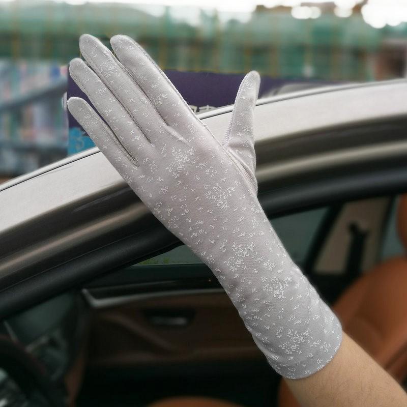 夏天开车戴的手套L长袖防汗护手冰爽触摸屏男式夏日自行车女款骑
