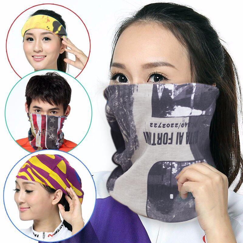 海盜帽男女通用包頭帽子裝飾頭巾戶外運動多功能百變魔術頭巾定製