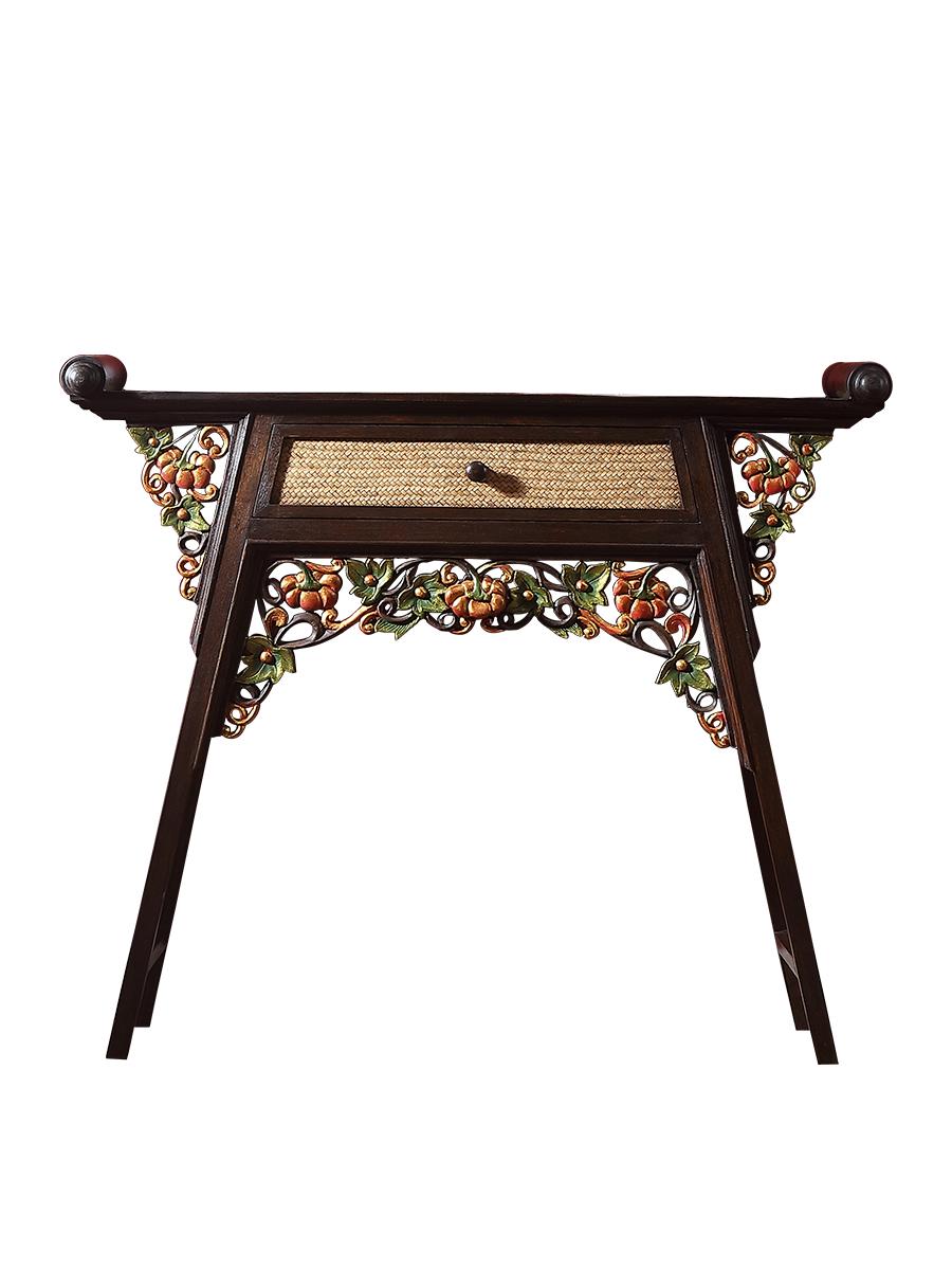 泰域泰国实木堂家用东南亚风格佛龛