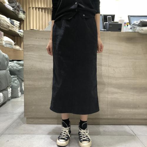 向日葵小姐2020冬季新品韩国东大门代购bari洋气牛仔半身裙110509