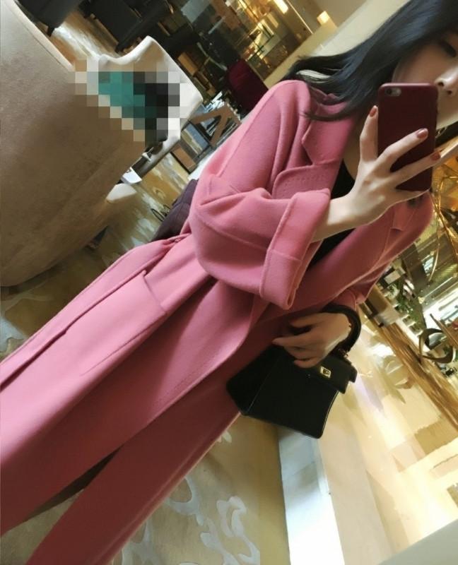 摩达vero新款女装moda官方旗舰店高端双面羊绒呢子大衣女2019新款
