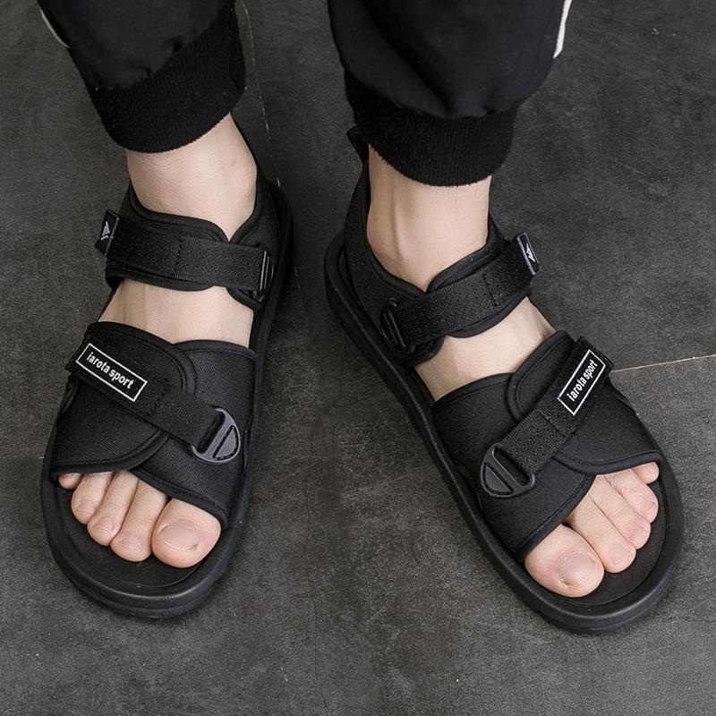 越南凉鞋男2021夏季新款情侣大码学生韩版黑色潮牌橡胶越南沙滩鞋