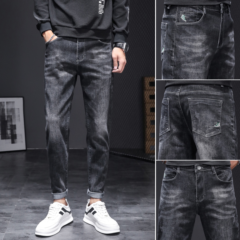 春季潮牌修身男士韩版潮流牛仔裤好用吗