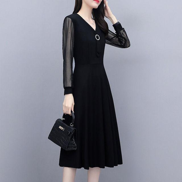 晶际正品夏季大码女装防晒蕾丝长袖连衣裙女士休闲遮肉显瘦打底裙