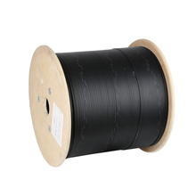 Fiber optic cable outdoor indoor leather cable 1 core 2 core 3 steel wire single-mode outdoor extension fiber optic cable 1000M