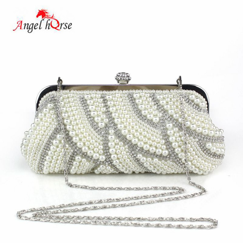 Classic retro handbag, embroidered beads, diamond decorations, dinner party, bridal bag, cheongsam bag, new 2019