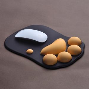 KINE猫创意可爱猫爪鼠标垫护腕垫子电脑笔记本台式机桌面鼠标垫