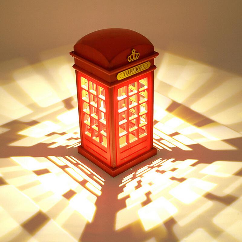 電話亭充電臺燈