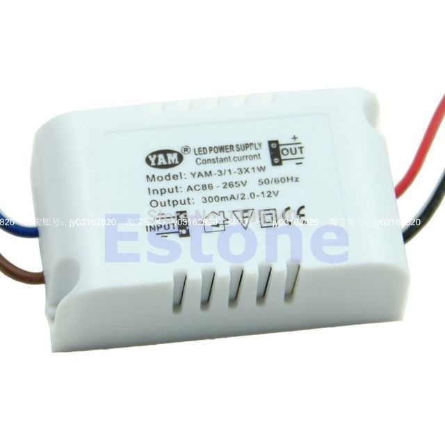 A25 hot- LED Power Supply Driver 1-3W Ceiling Light Electro