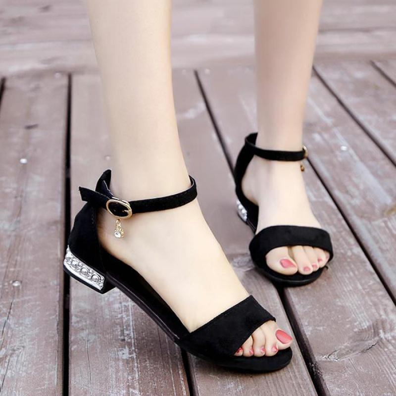 36舒适软底平底漏洞工作单鞋女2020夏季新款透气镂空一脚蹬护士鞋