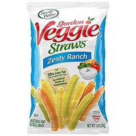 Sensible Portions Garden Veggie Straws, Zesty Ranch, 1 Ounc