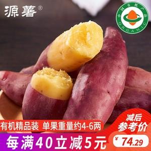 源薯海头地瓜沙地有机粗粮日式板栗薯现挖地瓜新鲜红薯精品装5斤