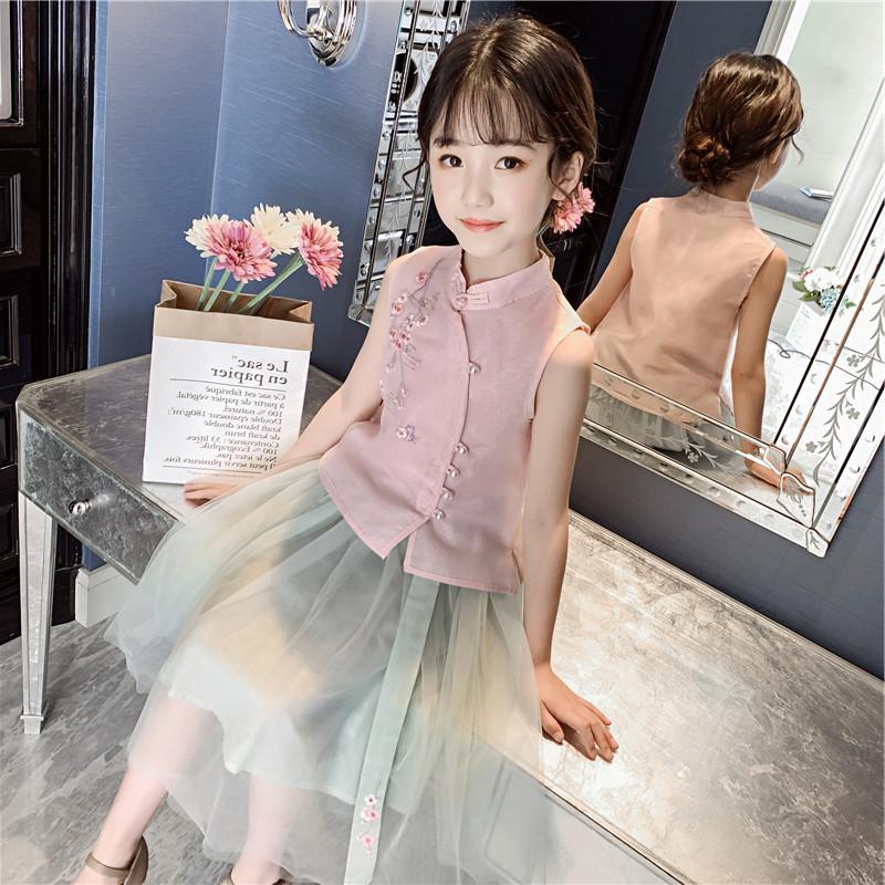 女童汉服襦裙中国风儿童古装连衣裙不包邮