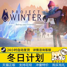 Steam正版PC中文游戏 冬日计划 Project Winter图片