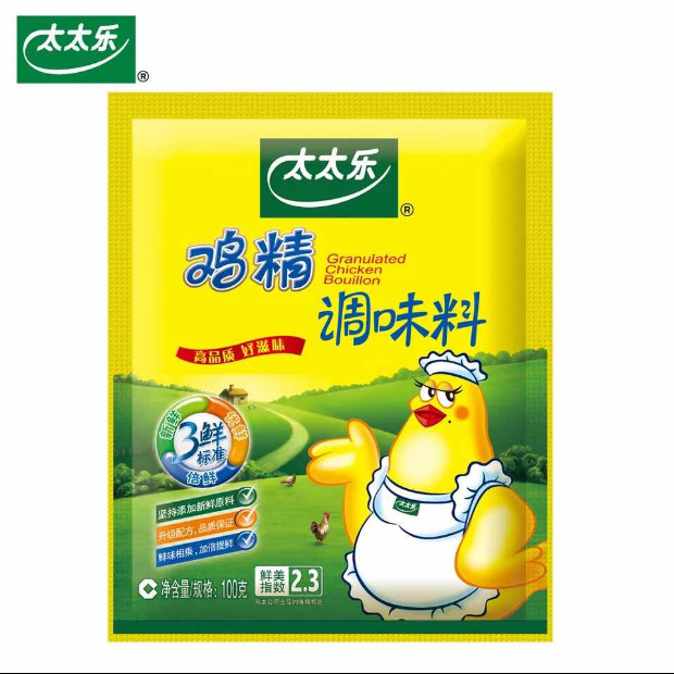 包邮太太乐三鲜鸡精100g火锅替代味精鸡粉厨房家用炒菜做汤调味料