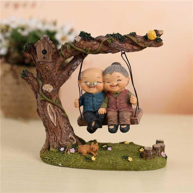 老人生日礼物贺寿礼品送爷爷奶奶大寿星过寿实用摆件老年人祝寿80
