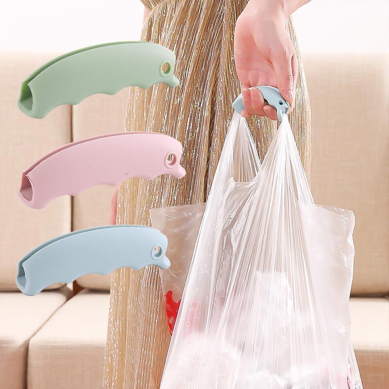 硅胶防勒手省力提菜器塑料袋提手 买菜手提方便袋拎袋神器
