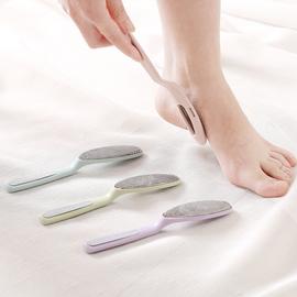 不锈钢双头搓脚板磨脚石洗脚刷去死皮锉脚底去老茧角质工具修脚器图片