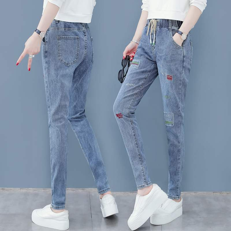 Extreme Vance jeans womens straight tube loose 2020 new fashionable pants small man looks thin and versatile Hugh