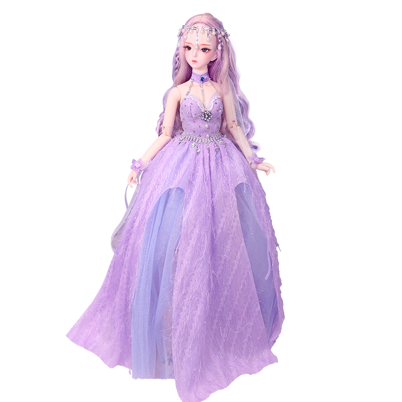 Dbisheng Doll DF Dream Fairy Tale 60cm Joint Girl Simulates Bjd Dress Doll Girl Toy 3 Dolls