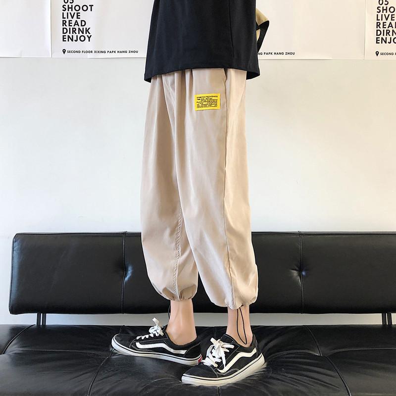 夏季工装裤宽松bf风韩版显瘦九分裤满117.00元可用58元优惠券