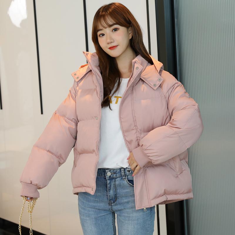 反季羽绒棉服女短款冬季2020新款韩版面包服棉袄宽松加厚棉衣外套