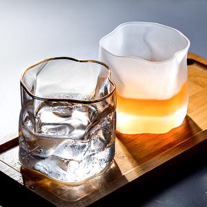 磨砂网红高颜值水杯子ins玻璃杯
