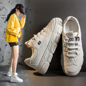 兰茵朵小白鞋2020春季新款韩版学生百搭平底板鞋女透气休闲鞋女鞋