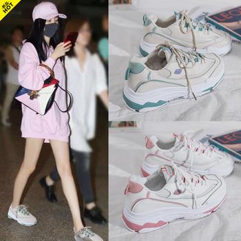 兰茵朵2019新款春夏季网面运动鞋ins超火的鞋子女韩版学生跑步鞋