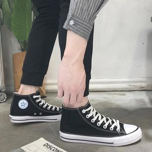 兰茵朵新款经典帆布鞋子硫化男鞋情侣款学生鞋春季韩版女鞋