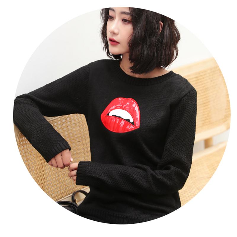 【网红同款】针织衫长袖毛衣打底衫女