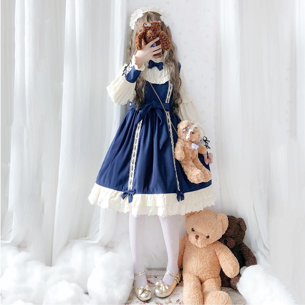 洛丽塔正版原创lolita全套装轻裙子