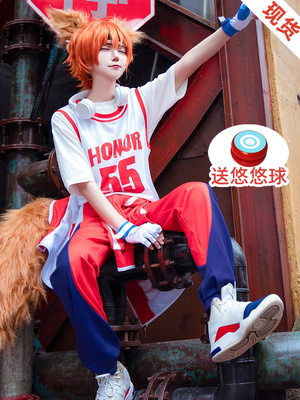 taobao agent Heshun Anime King of Glory cosplay Baili Xuance Thermal Maneuvering Cos Clothing Zhang Liang Sports Daily Clothes