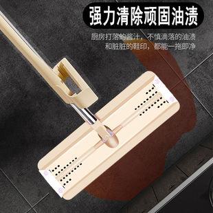免手洗平板拖把懒人家用木地板瓷砖地拖神器干湿两用吸水旋转墩布