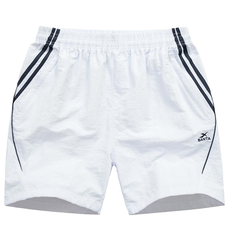 男士短裤夏休闲四分裤三分裤运动速干拉链口袋跑步健身居家沙滩裤