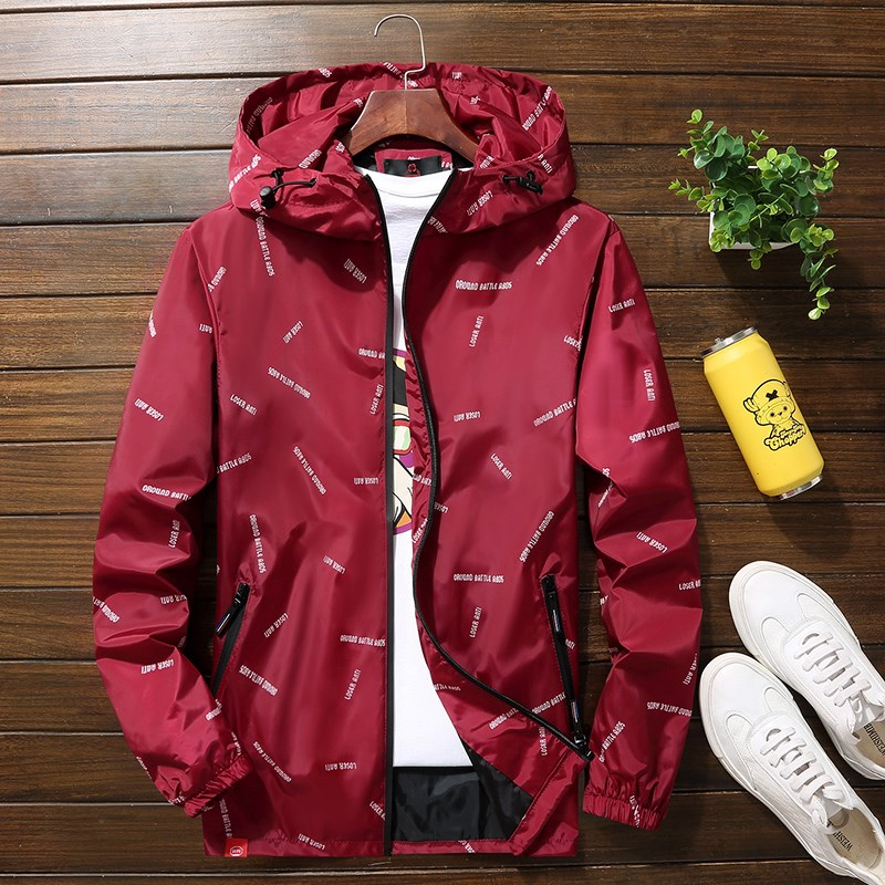 Mens coat size plus fat young and middle-aged super size extra fat people camouflage sports trend loose type super size jacket