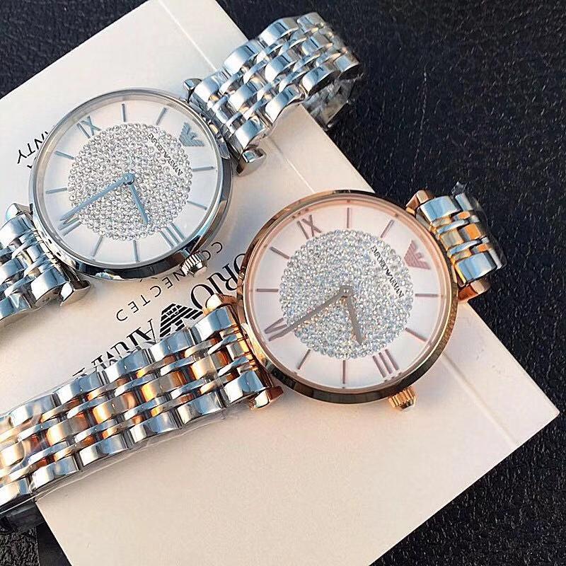 手表女钢带情侣女士简约时尚潮流防水石英表中性腕表商务男士
