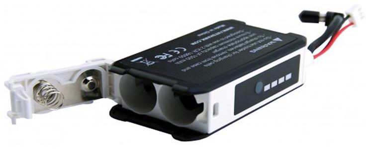 肥鲨 FATSHARK HD2/HD3 视频眼镜电池盒 改18650电池配件 电池盒