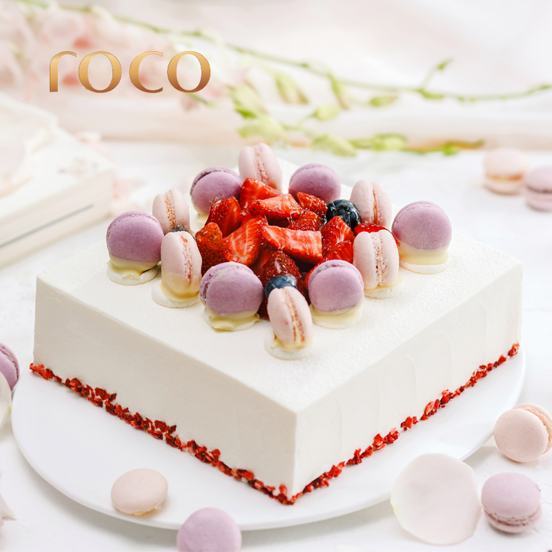 If can sweet strawberry fruit cake sunlight Lolita personalized creativity network red birthday cake City Distribution