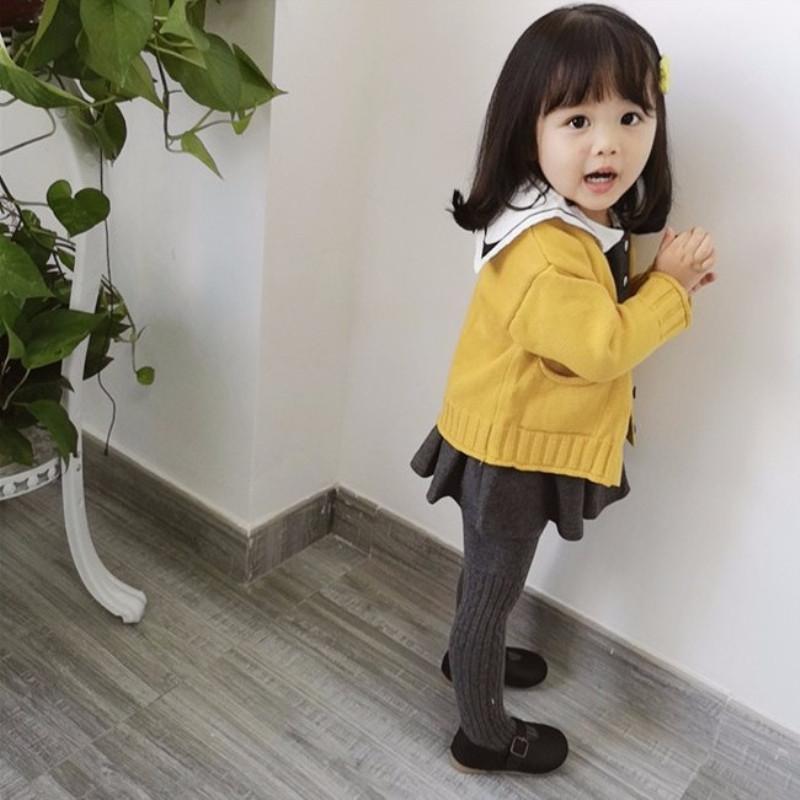 2019新款童装春装女童连衣裙洋气宝宝娃娃领可爱婴儿裙装长袖韩版(非品牌)