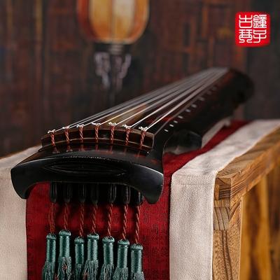 钟子古琴伏羲式古琴纯生漆演奏级七弦琴仲尼混沌