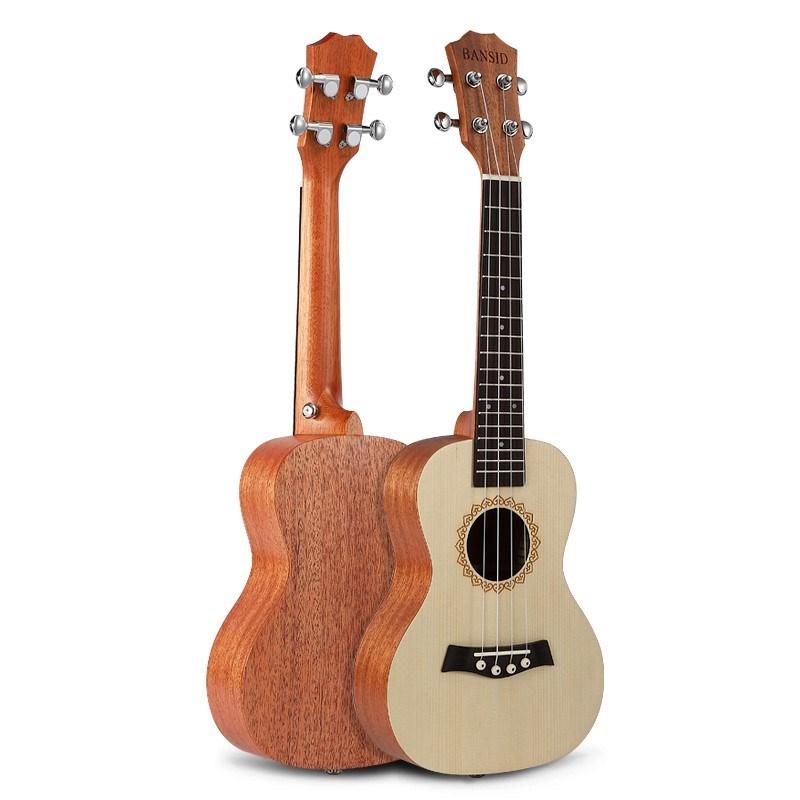 买三送一尤克里里初学者学生成人23寸吉他