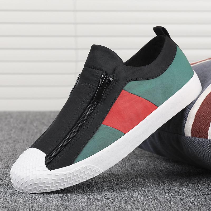 布鞋女2020夏季新款闪步女鞋小白鞋透气休闲鞋平底百搭水洗布板鞋