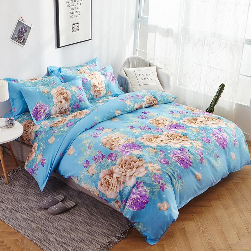 秋冬季水洗棉四件套双人被套4床单用后反馈
