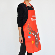Times Le Bear Christmas supermarket shop mall decorate Christmas Eve Decoration Kitchen Restaurant Apron