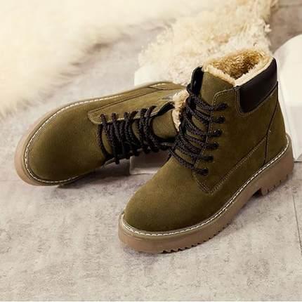 2018新款棉鞋女学生冬季防滑短筒雪地靴加绒加厚保暖短靴女鞋防水
