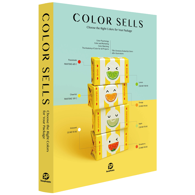 Color Sells: Choose the Right Colors for Your Package 包装配色指南 包装配色设计书籍