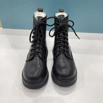 自然卷保暖羊毛马丁靴2020冬季新款加厚绒雪地靴棉靴防滑短靴女