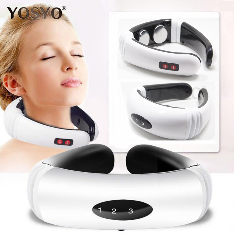 Neck Massager Far Infrared Heat Pain Relief Tool Relaxation